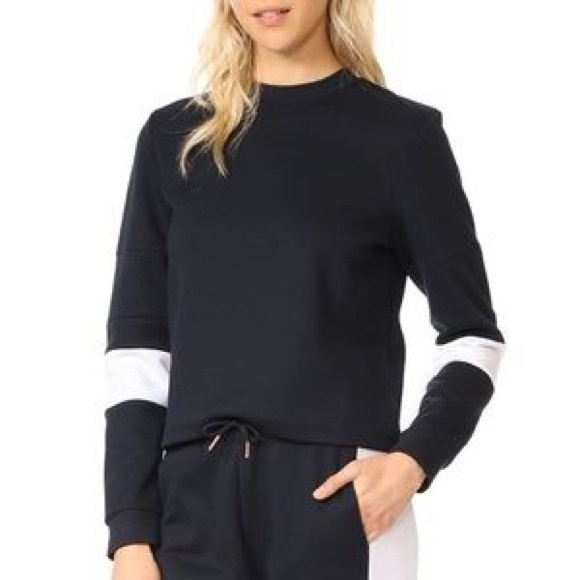 Onzie Tops - Onzie black and white sweatshirt